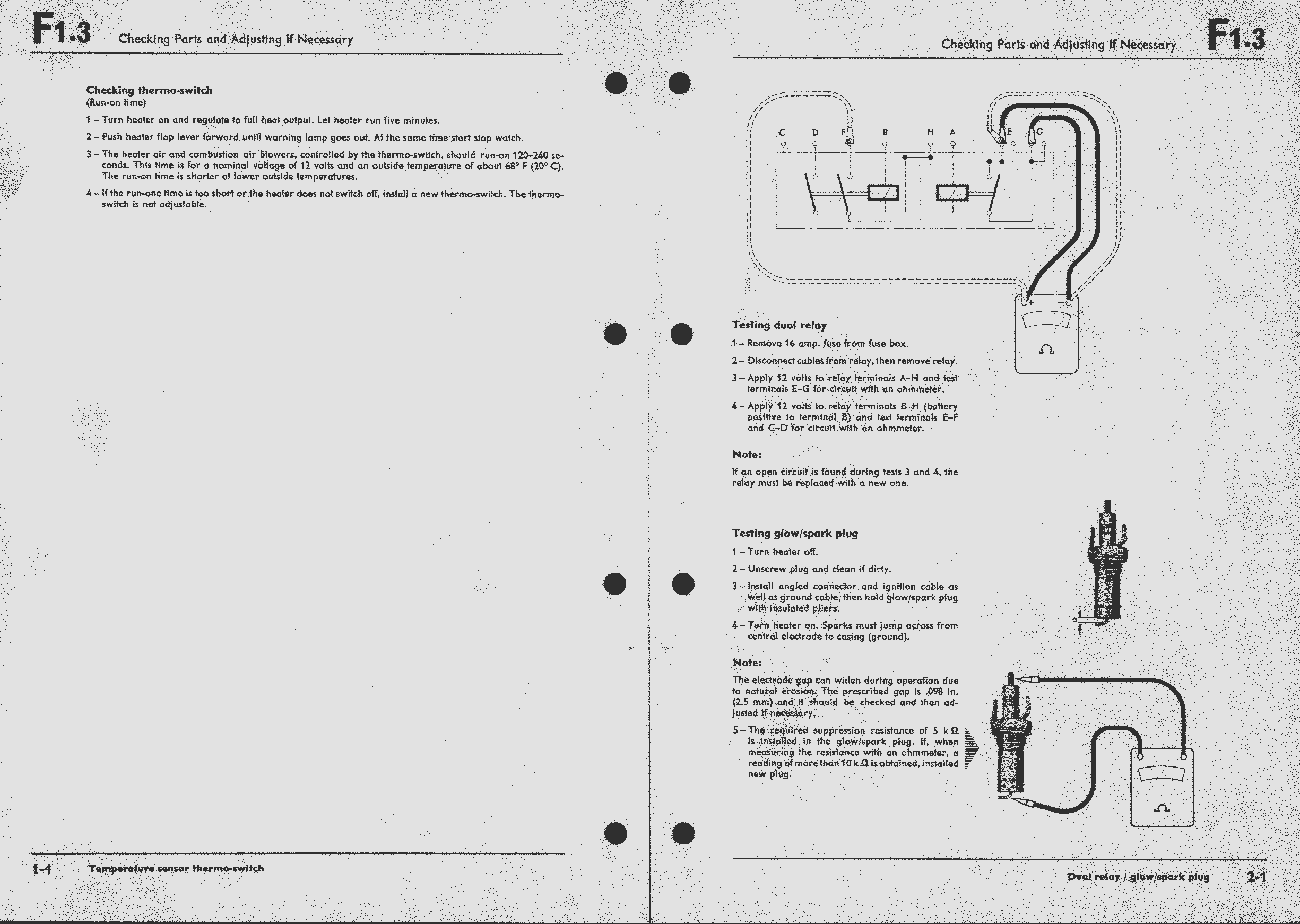 Obsolete Air Cooled Documentation Project Vw Workshop Manual Relay Wiring Diagram As Well 12 Volt Diagrams Type 4