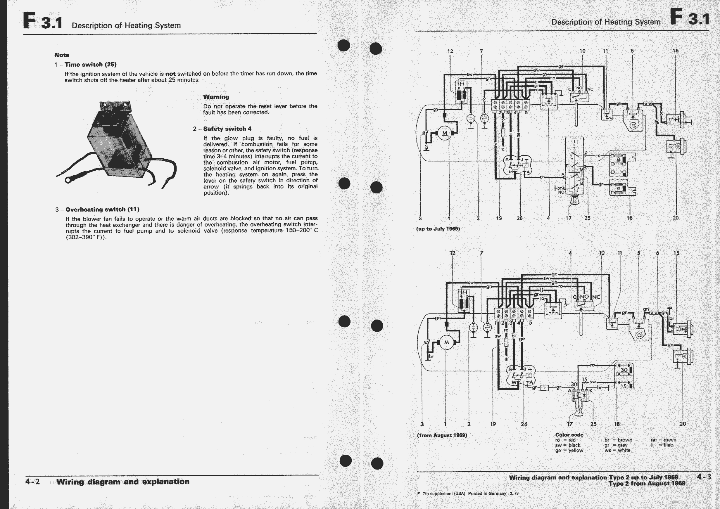 Obsolete Air Cooled Documentation Project Vw Workshop Manual Heat Combustion Engine Diagram Types 2 And 181