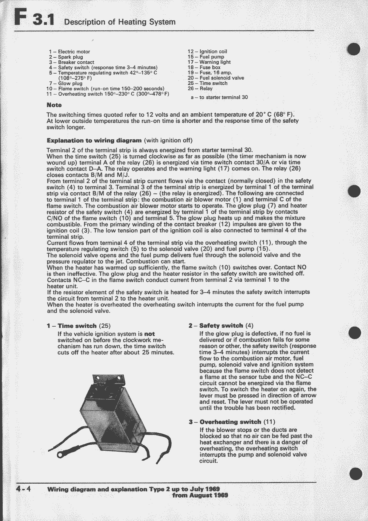 Obsolete Air Cooled Documentation Project Vw Workshop Manual Ignition Coil Wiring Diagram Types 2 And 181